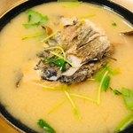 魚啓 - 白鯛のアラ汁