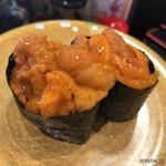 回転割烹 寿司御殿 - 料理写真:雲丹