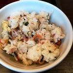 しゃぶ葉 - アサリと菜の花のちらし寿司