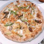 ステッサ - 蛍烏賊と桜海老のピザ