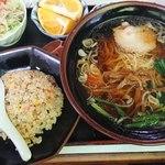 勝竹 - 料理写真:ラーメン定食(750円)