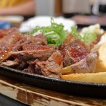 もっこすprimo - 牛カイノミステーキ