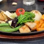 もっこすprimo - 焼き野菜の盛り合わせ