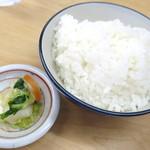 味の一平 - 小ライス_150円