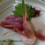 白金温泉ホテル - 刺身(夕食)