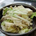 白金温泉ホテル - 鶏鍋(夕食)