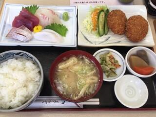 いたこ丸 - 「いたこ丸定食(並)」1200円