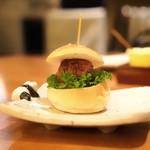 焼鳥YAMATO - ☆自家製のミニつくねバーガー