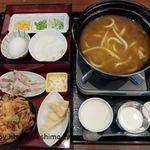 ファミリーレストラン だいまる - 美瑛カレーうどん かけ麺