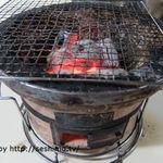 馬場ホルモン - 炭火の七輪