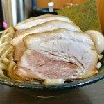 つけ麺 弥七  - 特盛(麺500g)ですとかなりの量です【料理】