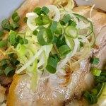 つけ麺 弥七  - ミニチャーシュー丼アップ1【料理】
