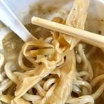 つけ麺 弥七  - 穂先メンマリフト【料理】