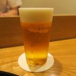 日本料理 太月 - 30年4月 生ビール小