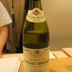 日本料理 太月 - 30年4月 Bouchard Père & Fils - Meursault Genevrières 1er Cru Domaine 2012