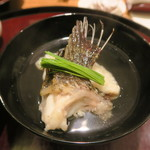 Tagetsu - 30年4月 おこぜ丸仕立て椀