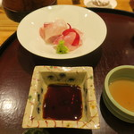日本料理 太月 - 30年4月 お造り 大分イサキ、静岡真ハタ