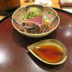 日本料理 太月 - 30年4月 勝浦鰹タタキ
