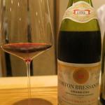 日本料理 太月 - 30年4月 Tollot-Beaut & Fils Corton-Bressandes Grand Cru 1995