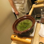 日本料理 太月 - 30年4月 花山椒、牛肉 小鍋