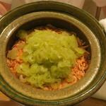日本料理 太月 - 30年4月 桜海老、蕗の炊き込みご飯