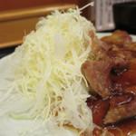 とんかつ まるや - 生姜焼き定食 ※17時~限定販売