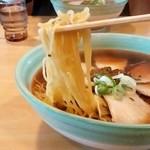 小江戸 - 小江戸@秋田 らーめんの麺