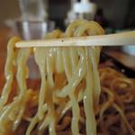 二代目 麺やケイジロウ - ムチムチの筋肉質なボディ  ムッチリムチュグニッ力強い歯応え