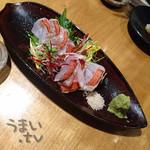 魚 きんめ - 金目鯛刺身 1180円