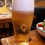 ピッツェリア パーレンテッシ - エビス生ビール