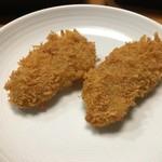 キセキ食堂 - 夜の部持ち帰り「熟成ひれカツ」150円×2