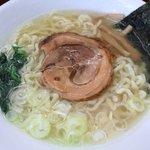 めんや風花 - 天然塩ラーメン700円