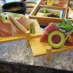 雪月花 - 造り膳のお魚