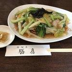 中国菜 膳房 - あんかけ焼きそば ※お粥セット850円(税込)