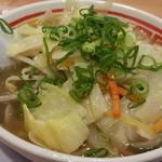 84600770 - 塩ラーメン+野菜