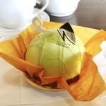 なかしま 糸魚川店 - メロン畑@中はメロンとパイナップルのムース、ボトムはタルトレット