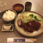 84604380 - ロースランチ定食 ¥1,300-