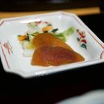 Hitsumabushinagoyabinchou - 漬物、奈良漬