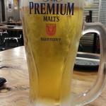 84608857 - 生ビールはプレミアムモルツ通常199円