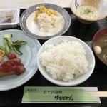 五十沢温泉ゆもとかん - 料理写真:ビジネス用の朝食(バイキング形式)