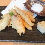 土佐清水ワールド - みょうがの天ぷら