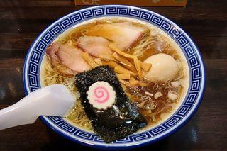 醤油ラーメン 柴 - 醤油ラーメン 柴(醤油ラーメン 680円+味玉50円)
