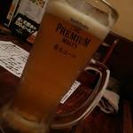 だんだん茶屋 - 生ビール