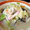 ドライブイン三松 - 料理写真:ちゃんぽん¥600。主人が注文。量が多すぎないのが良いと言っていました。