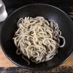 麺家かもん - 味玉つけ麺