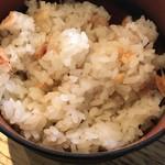 うどん山長 - さくら海老の炊き込みご飯