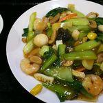 北京家常菜 東海閣 - 半ライスを追加