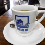 珈琲屋 - ドリンク写真:2017/10/24  ホットコーヒー