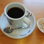 珈琲所 コメダ珈琲店 - ブレンドコーヒー 袋から出した豆菓子