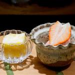 喰善 あべ - 苺と甘夏
